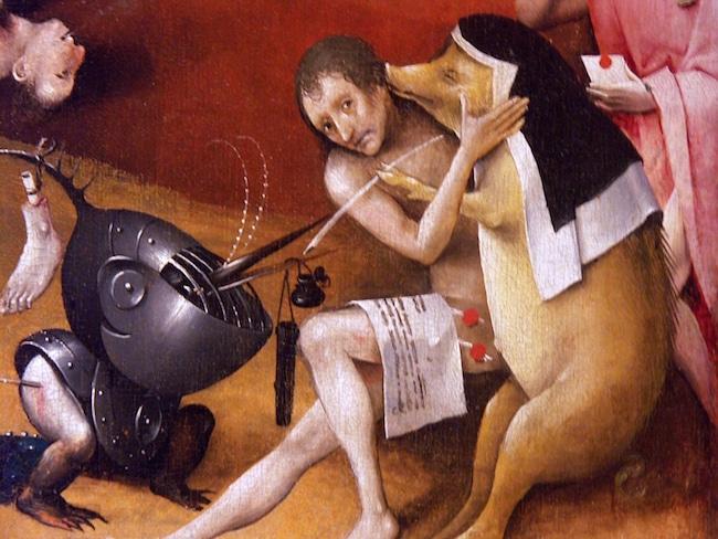 Frédéric Grolleau, Hyeronymus, moi, Jérôme Bosch, ou le peintre des enfers