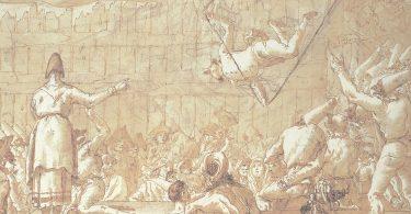 Giorgio Agamben, Polichinelle ou Divertissement pour les jeunes gens en quatre scènes, Macula