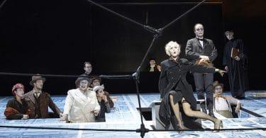 Bertolt Brecht, La résistible ascension d'Arturo Ui, Comédie française Thalbach