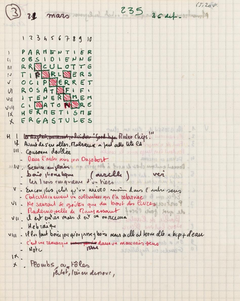 Georges Perec, Œuvres en Pléiade