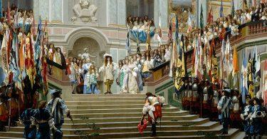 Daria Galateria, L'étiquette à la cour de Versailles