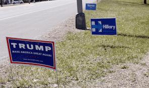 Élections américaines 2016 Trump Clinton