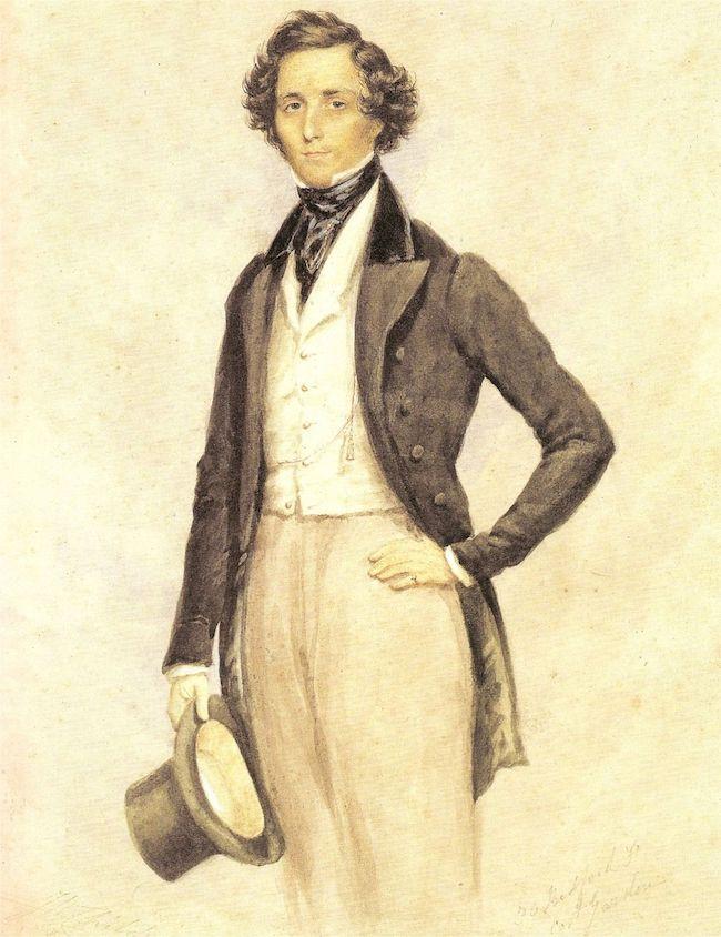 Felix Mendelssohn, Concerto pour violon, Symphonie n° 5