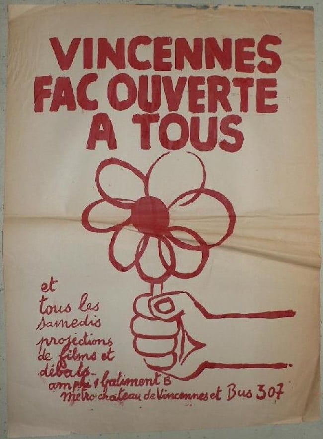 Paris des philosophes Vincennes