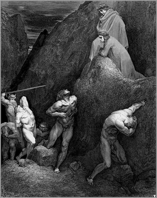 Dante, La Divine Comédie. Trad. de l'italien par René de Ceccatty