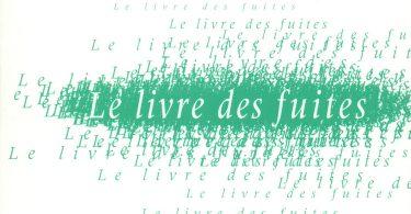 J. M. G. Le Clézio, Le livre des fuites