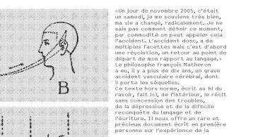 François Matheron, L'Homme qui ne savait plus écrire