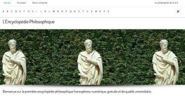 Un nouvel outil en ligne : L'Encyclopédie Philosophique