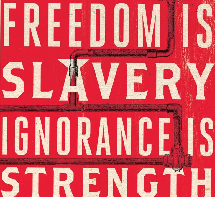 George Orwell, 1984 En attendant Nadeau