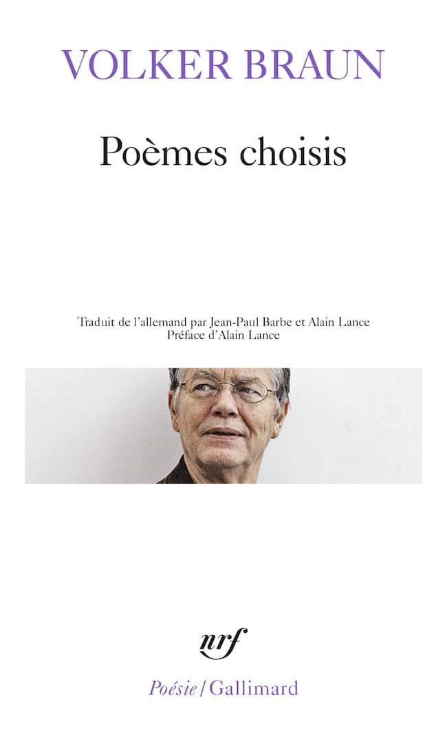 Volker Braun, Poèmes choisis