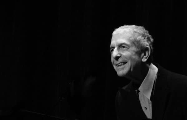 Leonard Cohen, La flamme. Poèmes, notes et dessins.