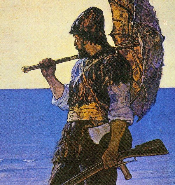 Daniel Defoe, Robinson Crusoé En attendant Nadeau