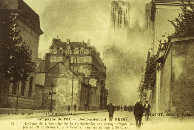 Thomas W. Gaehtgens, La Cathédrale incendiée. Reims, septembre 1914