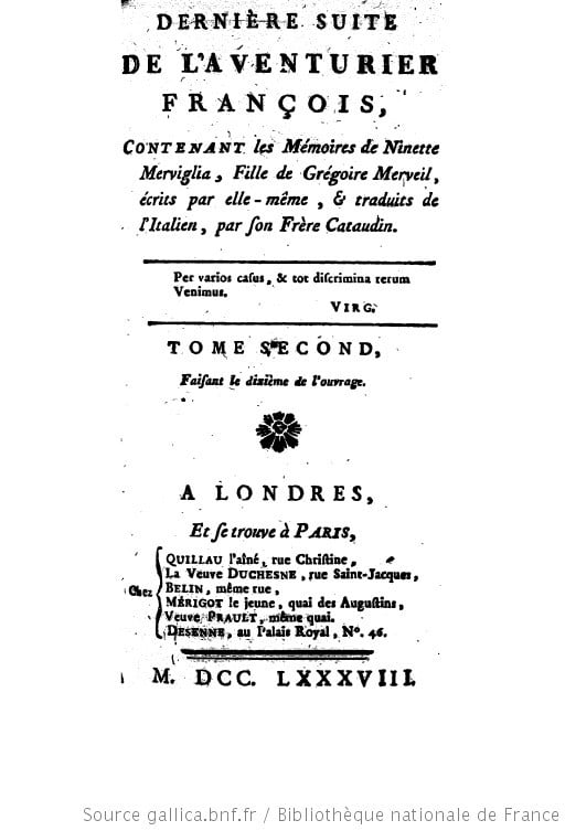Robert-Martin Lesuire, Robert, ou Confessions d'un homme de lettres