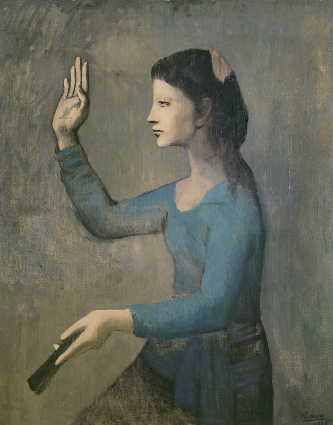 Picasso. Bleu et rose.