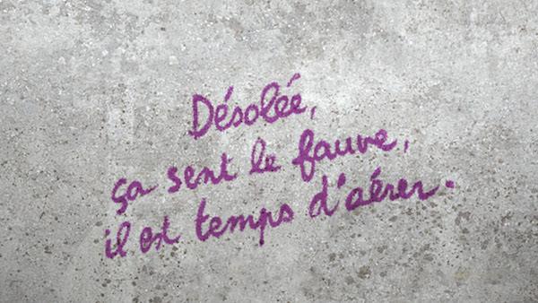 Chloé Delaume, Mes bien chères sœurs En attendant Nadeau