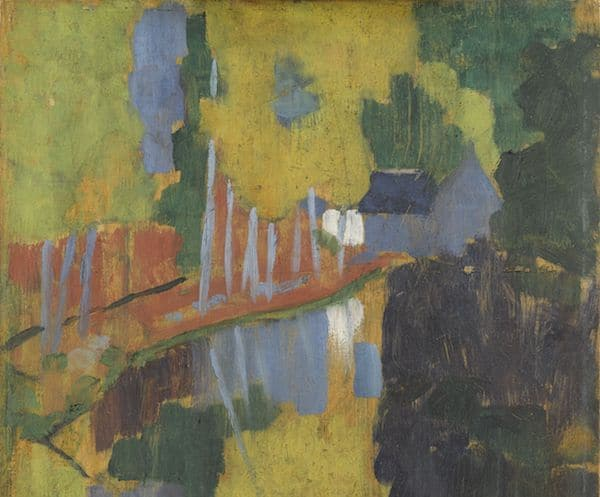 Exposition Le « Talisman » de Sérusier. Une prophétie de la couleur. Musée d'Orsay