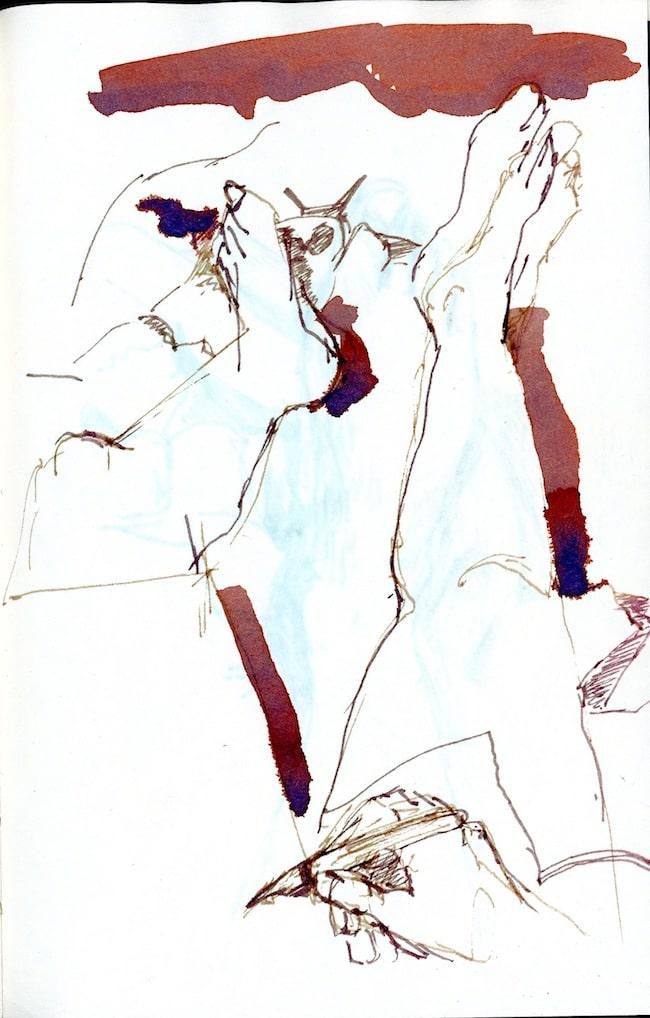 Colette Mazabrard, Un jour, on entre en Étrange pays