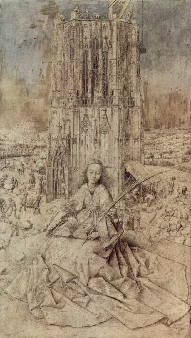 Jacques Darras, Van Eyck et les rivières dont la Maye