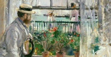 Berthe Morisot (1841-1895) Exposition Musée d'Orsay En attendant Nadeau
